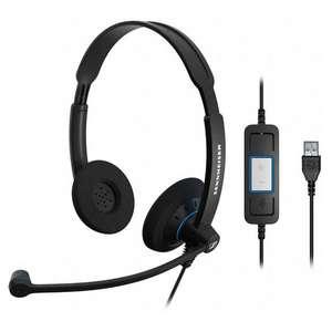 Headset #schwarz SC60 USB [Sennheiser]