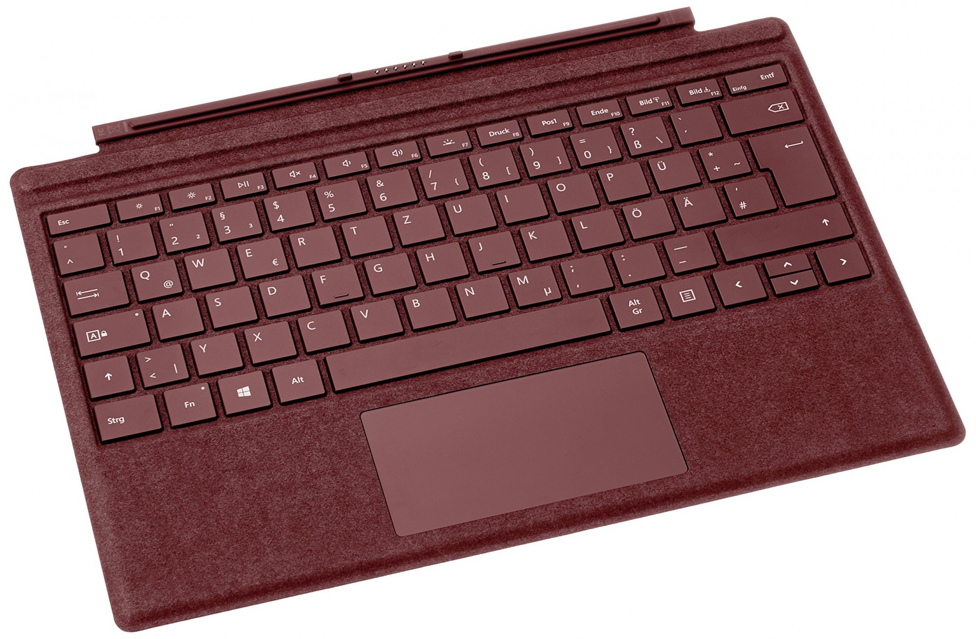 Microsoft Surface Pro Signature Type Cover #bordeaux rot