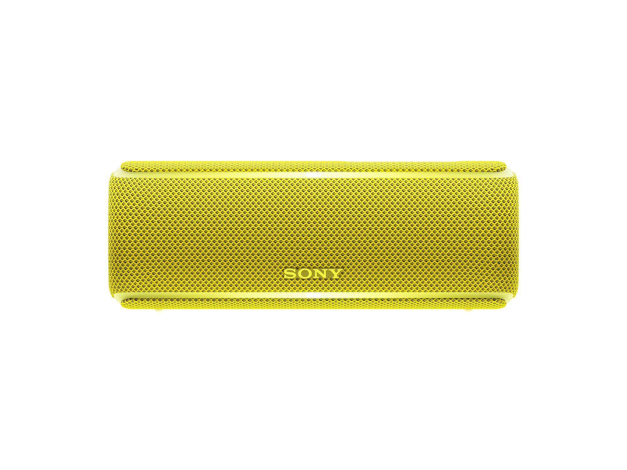 Sony SRS-XB21 kabelloser Bluetooth Lautsprecher #gelb