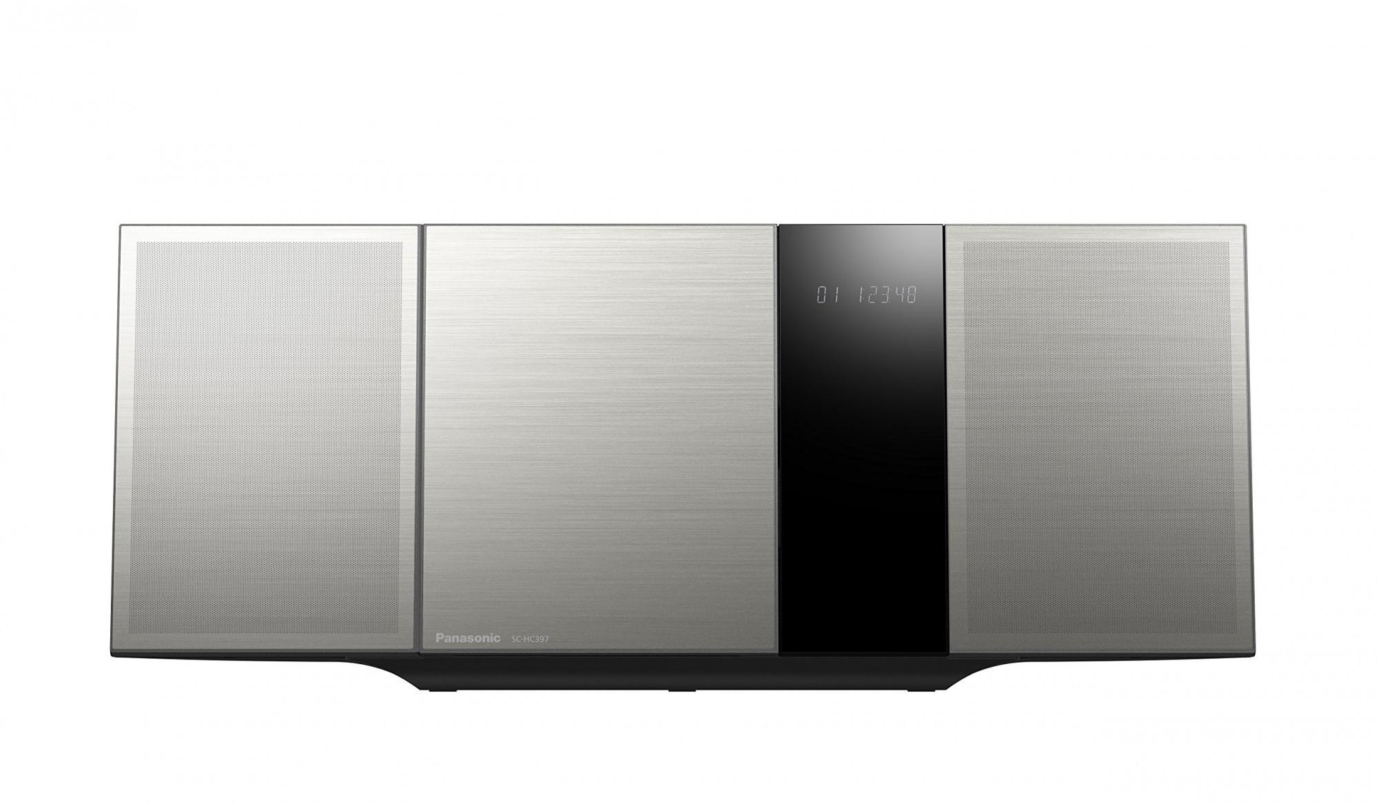Panasonic SC-HC397EG-S Design Micro HiFi #silber