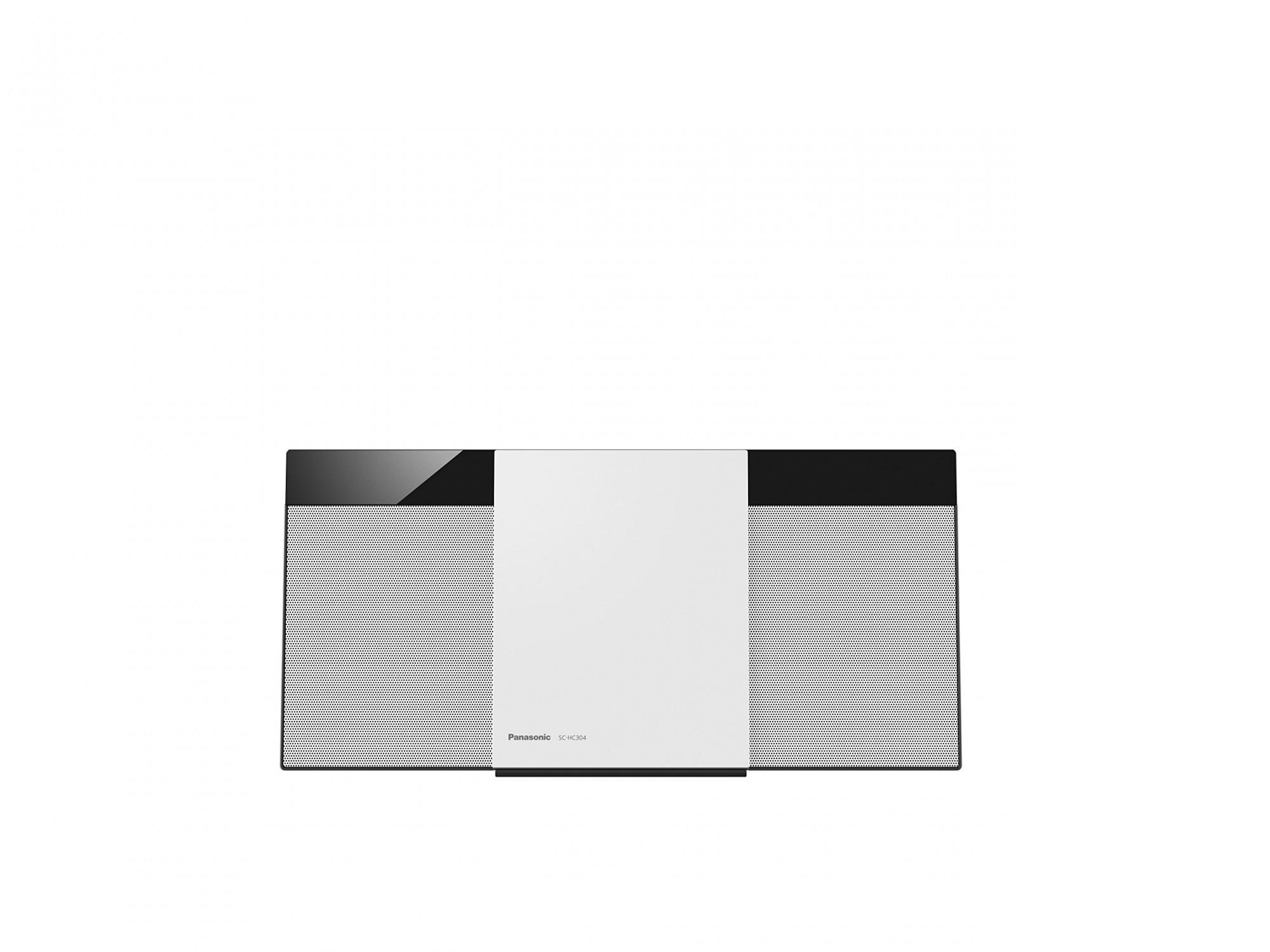 Panasonic Micro HiFi System SC-HC304EG-W #weiß