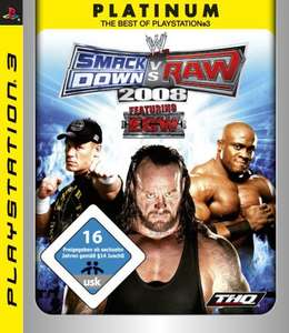 WWE SmackDown vs. RAW 2008: Featuring ECW [Platinum]