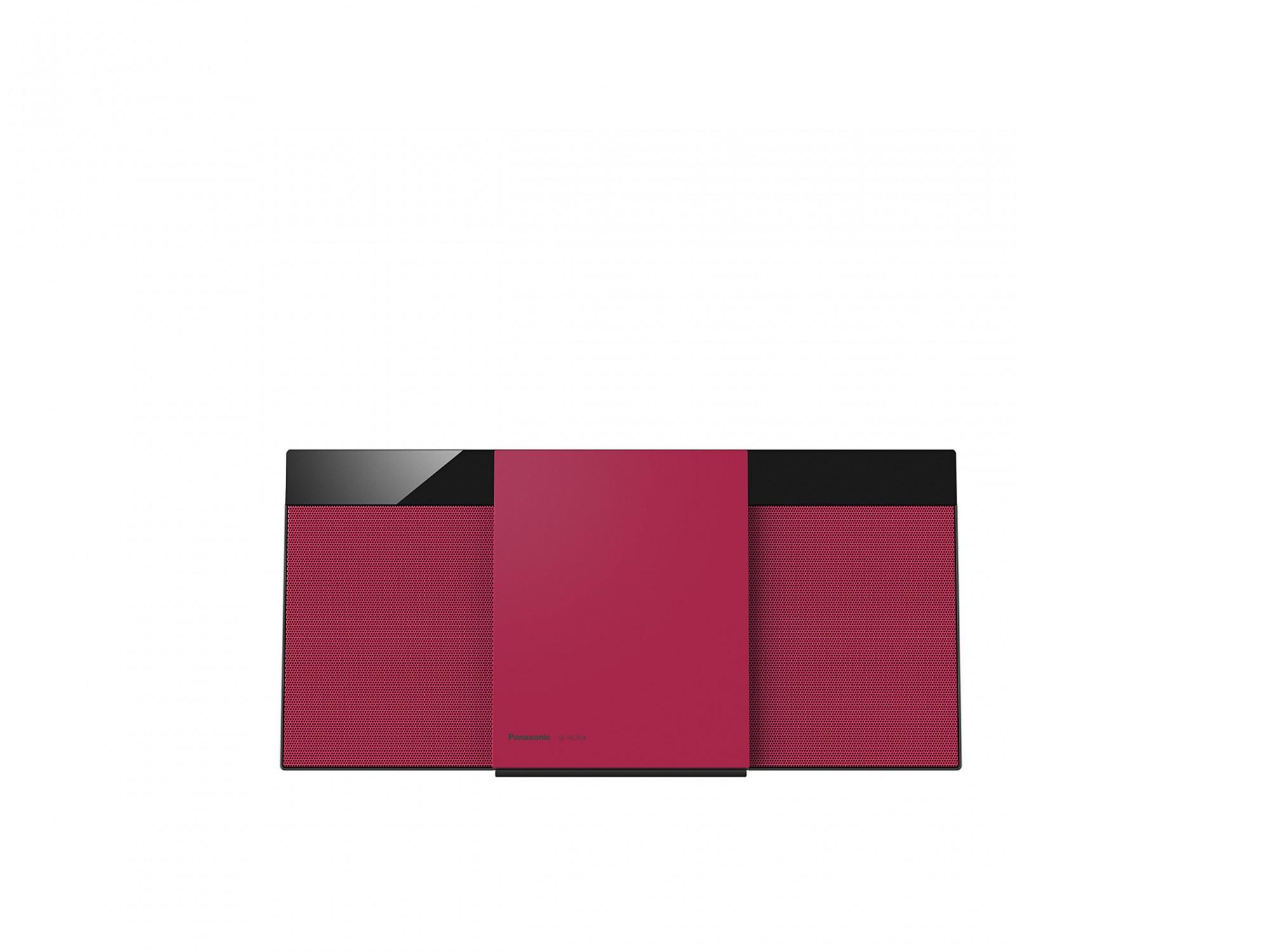 Panasonic Micro HiFi System SC-HC304EG-R #rot