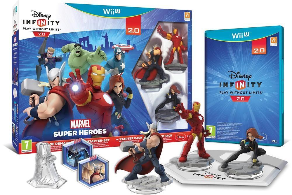 Disney Infinity 2.0 - Marvel Super Heroes Starter-Set