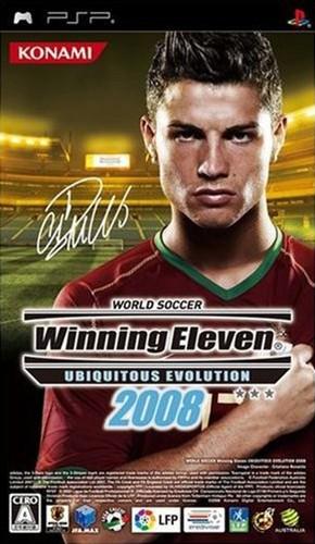 World Soccer Winning Eleven Ubiquitous Evolution 2008