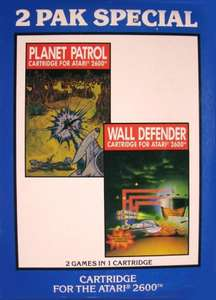 2 Pak Special - Planet Patrol + Wall Defender