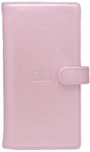 Game Card Case Leather #pink