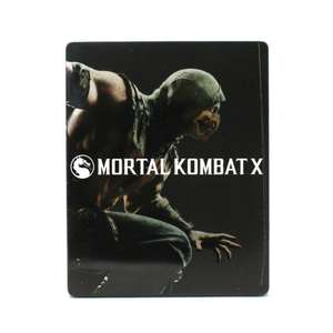 Mortal Kombat X #Steelbook