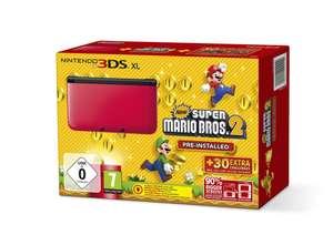 Konsole XL #rot New Super Mario Bros. 2 Edition