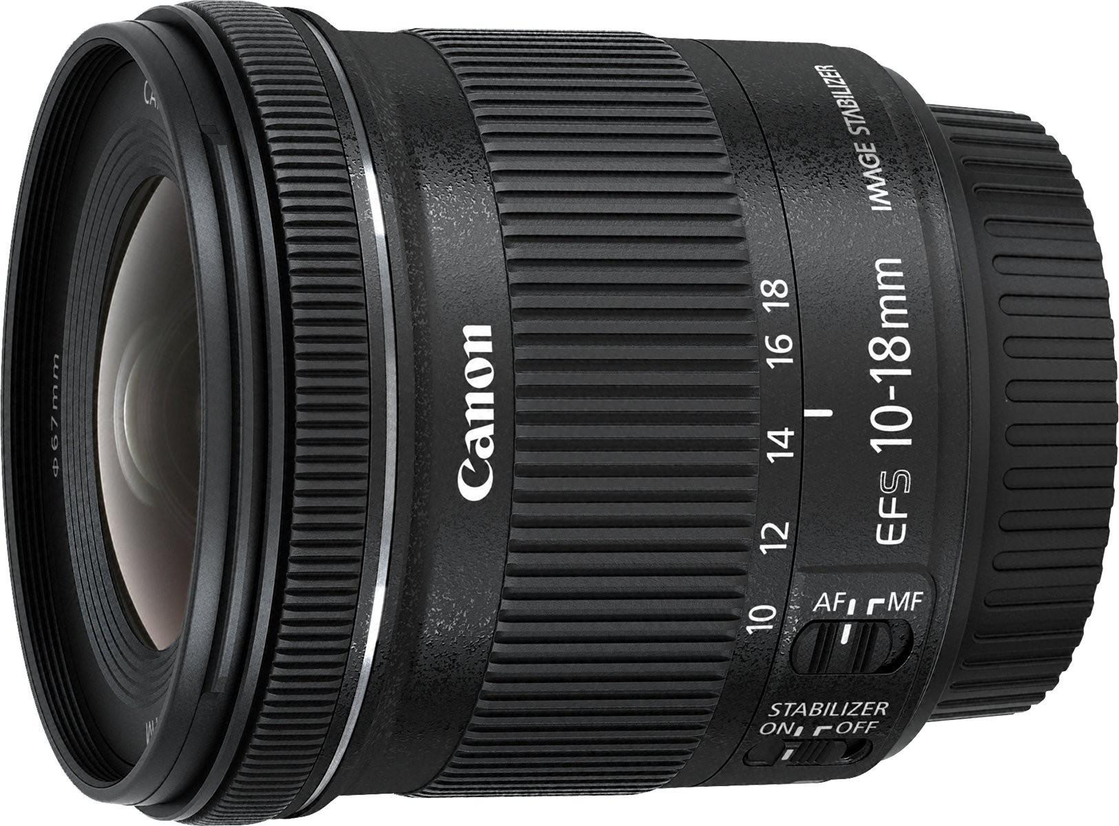 Canon EF-S 10-18mm 1:4.5-5.6 IS STM Objektiv #schwarz [Canon]