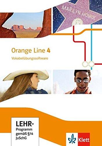 Orange Line 4: Vokabelübungssoftware Klasse 8 [Klett]