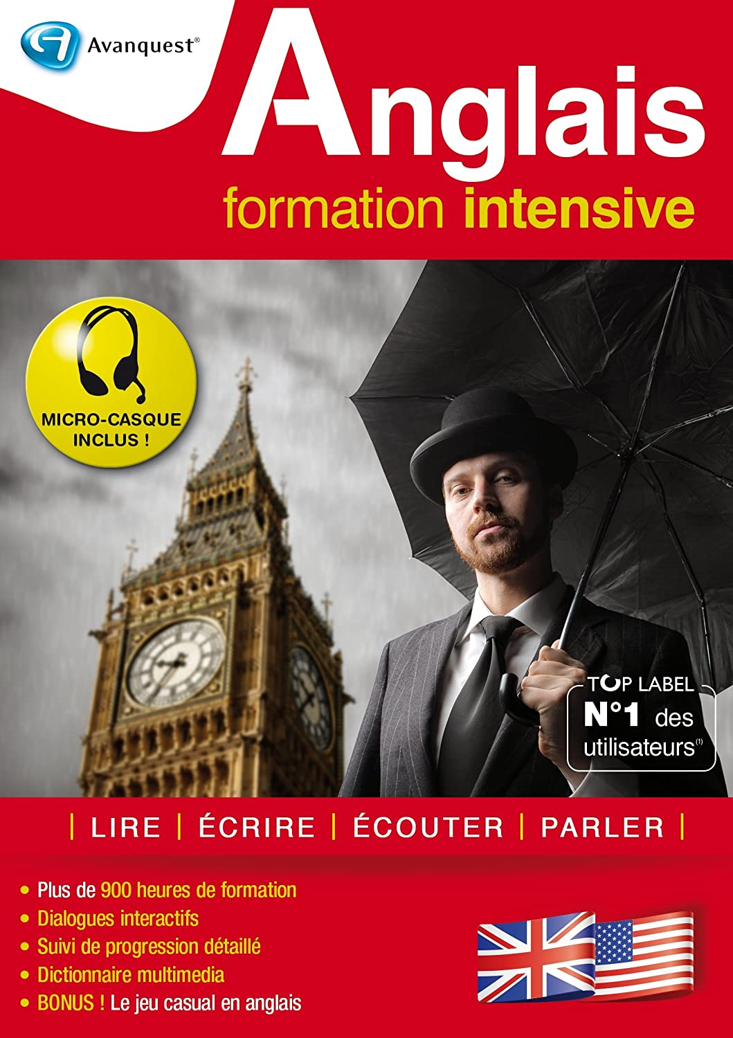 Anglais formation intensive