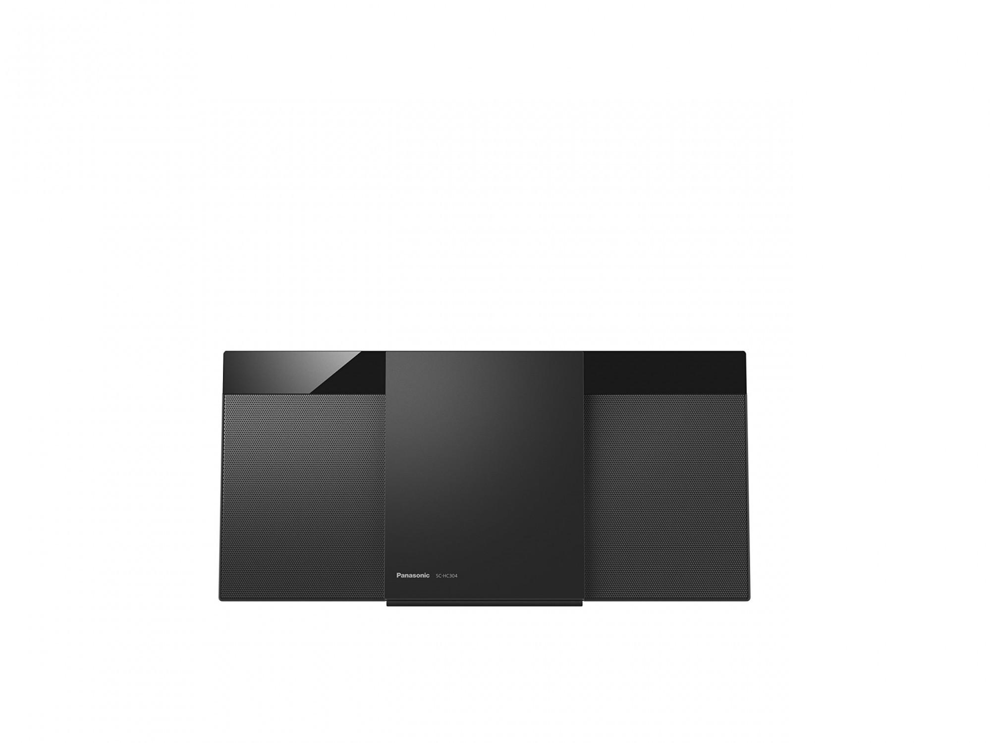 SA 263: Panasonic Micro HiFi System SC-HC304EG-K #schwarz UNVOLLSTÄNDIG