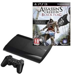 Konsole Super Slim 500GB + Assassin's Creed 4: Black Flag + Original Controller