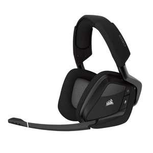 Wireless Gaming Headset Void Pro RGB #Carbon Black [Corsair]