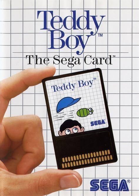 Teddy Boy #Sega Card / engl. Backcover