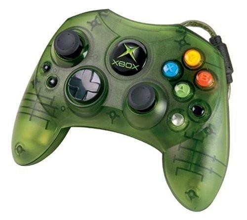 Original Controller S #grün-transp. [Microsoft]