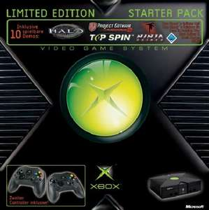 Xbox - Konsole #Starter Pack + 2 Controller