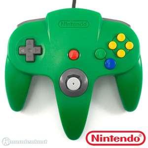 SA 379: Original Nintendo Controller #grün NUS-005 SONSTIGES