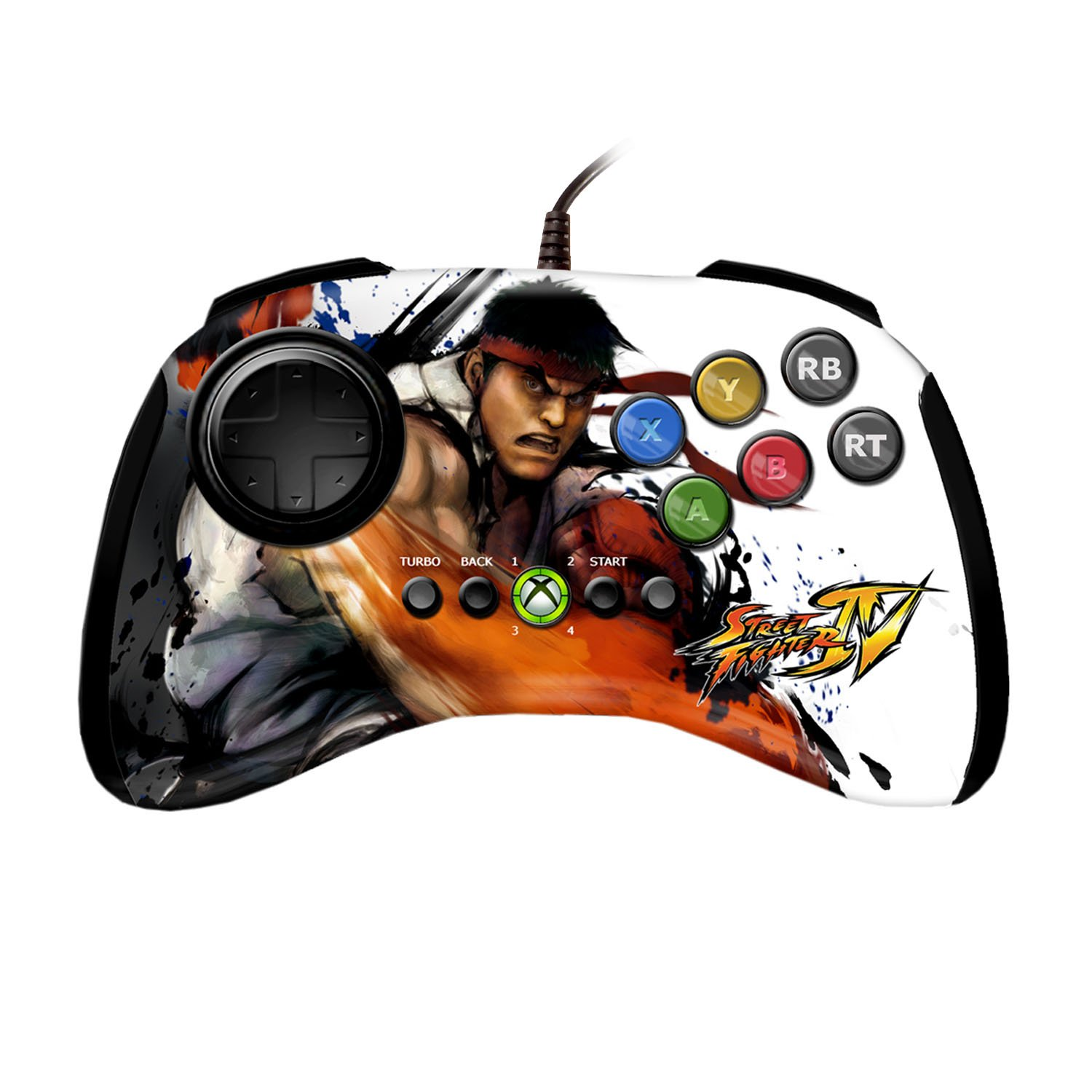Wireless Controller / FightPad - Street Fighter IV Edition #Ryu [MadCatz]