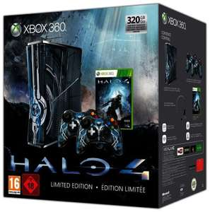 Konsole Slim 320GB #Halo 4 Edition + 2 Controller