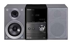 SA 384: Panasonic SC-PM602EG-S Micro HiFi System #silber BESCHÄDIGT