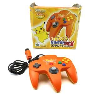 Original Nintendo Controller ##Pikachu Orange NUS-005 [Nintendo]