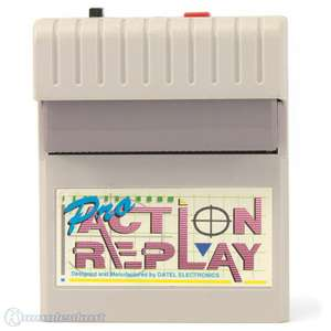 Action Replay Pro 1 inkl. Anleitung & Code Book [Datel]