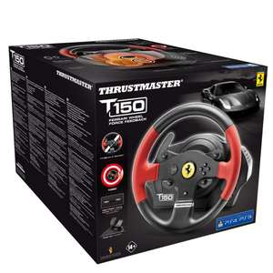 Thrustmaster T150 Ferrari Wheel Force Feedback [auch für PS3/PC]