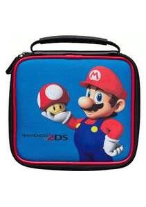 Original Tasche / Carry Case / Travel Bag #blau Mario [Nintendo]