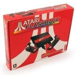 Konsole Atari Flashback + 2 Controller + Zubehör