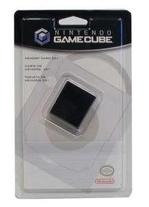 Original Nintendo 251 Memorycard / Speicherkarte #schwarz