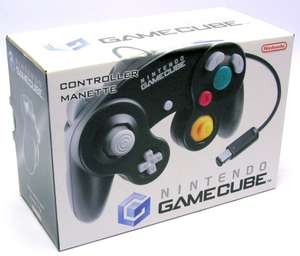 Original Nintendo Controller / Pad #schwarz DOL-003