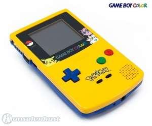 Konsole #Limited Pokemon Yellow & Blue Edition