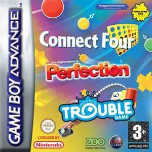 3 in 1: Connect 4 + Trouble + Perfection