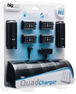 Ladestation / Charging Station / Charge Dock / Ladegerät Dual Quad Charger [BigBen]