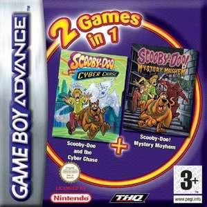 2 Games in 1: Scooby Doo: Cyber Chase + Mystery Mayhem