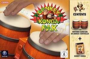 Original Bongo Controller / Bongos #Donkey Konga 1 Pak + Spiel