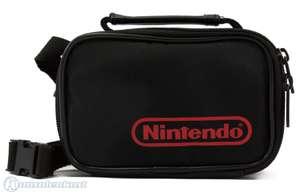 SA 623: Original Nintendo Tasche klein #Schwarz SONSTIGES
