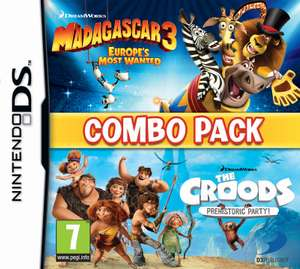Madagascar 3 + The Croods Double Pack