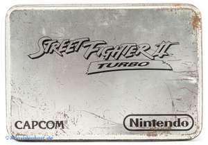 Street Fighter 2 Turbo #Limited Metal Tin Box Edition