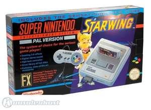 Konsole #Starwing Set + Spiel + Original Controller + Zubehör