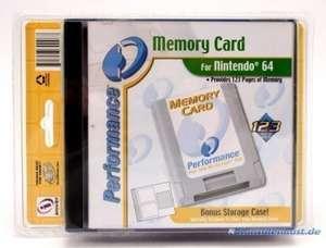 Memory Card / Memorycard / Speicherkarte / Controller Pak + Storage Case
