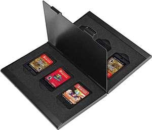 Spiele Hülle / Game Card Case 6er #schwarz [Dritthersteller]