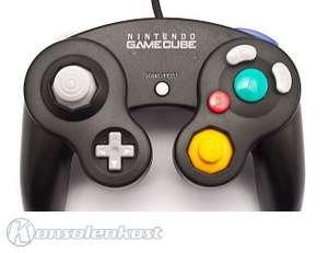 Original Nintendo Controller / Pad #schwarz DOL-003 [Nintendo]