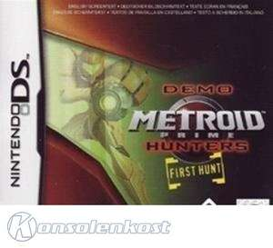Metroid Prime Hunters: First Hunt #DEMO