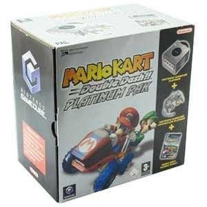 Konsole #silber Mario Kart Platinum Pak + Spiel + Controller + Zub
