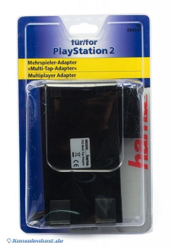 Multitap / 4 Spieler Adapter / 4 Player Adaptor / Multi Link [Hama]