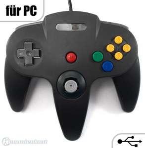 N64 USB Controller #schwarz