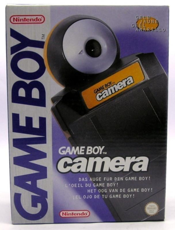 Kamera #gelb